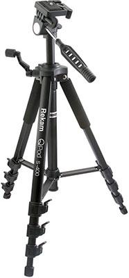 Трипод Rekam QPod S-400 серый штатив rekam qpod s 500 напольный черный 1410гр