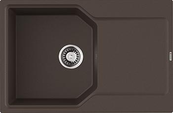 Кухонная мойка Omoikiri Yonaka-78-DC Artgranit/темный шоколад