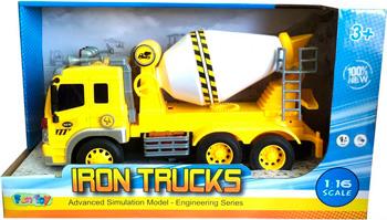 Машинка Fun Toy Грузовик инерционный электромеханический 44404/11