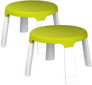 Табуреты Oribel (2 шт. в упаковке) CY303-90006-INT пластиковая мебель oribel табуреты для детей страна чудес