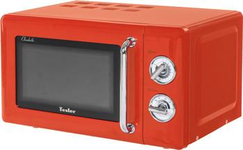 Фото - Микроволновая печь - СВЧ TESLER MM-2045 ORANGE 5028 3 печь свч first объем 20 л мощность микроволн 700 вт 6 уровней мощности