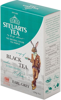 цена на Чай черный Steuarts Black Tea Earl Grey 250 гр