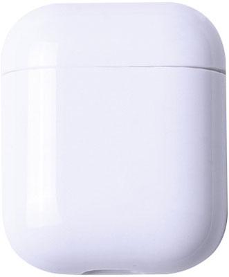 Фото - Чехол для наушников Eva Apple AirPods 1/2 - Белый (CBAP24W) коляска 2 в 1 riko bruno ecco prestige 15 бирюза белый