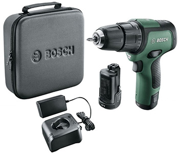 Дрель-шуруповерт Bosch Bosch EasyImpact 12 (2 акк.) 06039B6101 makita ddf483sye дрель акк