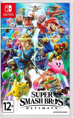 Видеоигра Nintendo Switch: Super Smash Bros. Ultimate