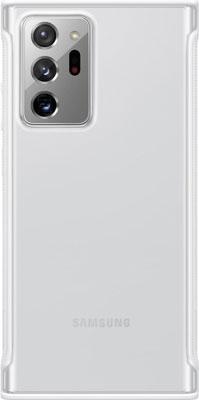 Чехол (клип-кейс) Samsung Galaxy Note 20 Ultra Clear Protective Cover белый (EF-GN985CWEGRU) платье oodji ultra цвет красный белый 14001071 13 46148 4512s размер xs 42 170