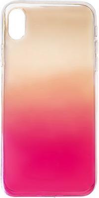 Чеxол (клип-кейс) Eva для Apple IPhone X/Xs - Жёлтый/красный (7136/X-YR) платье oodji ultra цвет красный белый 14001071 13 46148 4512s размер xs 42 170