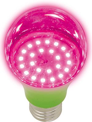 Лампа Uniel LED-A60-8W/SPSB/E27/CL PLP30GR для растений Форма ''A'' прозрачн