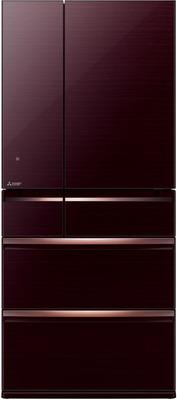 Фото - Многокамерный холодильник Mitsubishi Electric MR-WXR 743 C-BR-R холодильник mitsubishi electric mr fr62k st r