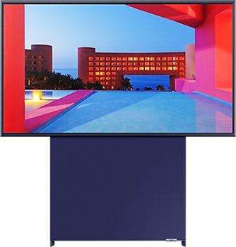 Фото - 4K (UHD) телевизор Samsung QE43LS05TAUXRU телевизор samsung the sero tv 2020 qe43ls05tauxru
