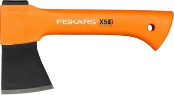 Топор туристический FISKARS X5 xxs 121123 топор универсальный fiskars x5 xxs нож точилка 1025441