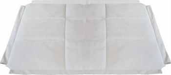 лучшая цена Одеяло-подстилка BabyDomiki для шатров светло-серое
