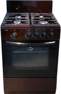 Газовая плита Cezaris ПГ 3100-00 (Ч) коричневый цена и фото