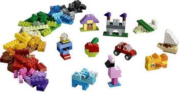 Конструктор Lego Classic: Чемоданчик для творчества и конструирования 10713 lego конструктор классик набор для творчества 10692 от 4 лет