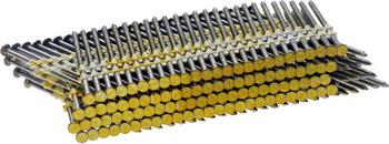 Гвозди FUBAG 140107 гвозди с кольцевой накаткой 3000 шт 3 05х90 мм для гвоздезабивного пистолета n90 fubag 140107