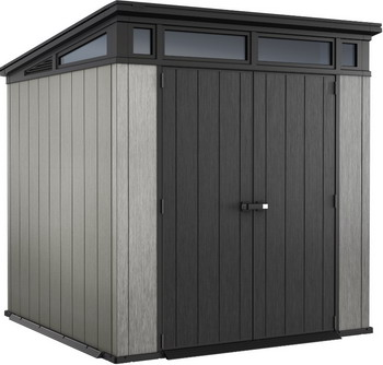 Хозяйственный блок Keter Artisan 7x7 серый 17203426 шкаф keter optima outdoor tall серый 17200531