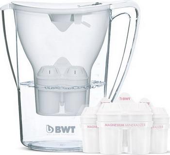 фильтры для воды bwt кувшин пингвин bwt кокосовый ласси Кувшин BWT Пингвин Кокосовый ласси + 3 кассеты В250С42