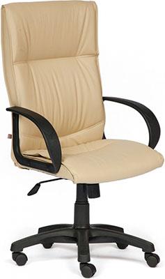 Кресло Tetchair DAVOS (кож/зам Бежевый PU C 36-34) офисное кресло tetchair maxima хром кож зам бежевый pu c 36 34