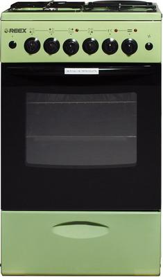 Комбинированная плита Reex CGE-531 ecGn зеленый