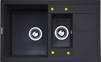 Кухонная мойка Zigmund & Shtain Rechteck 780.2 черный базальт