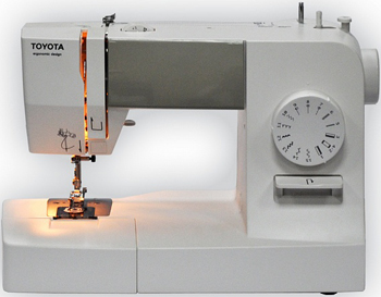 Швейная машина Toyota ERGO 15 D 5411450004459 toyota швейная машина