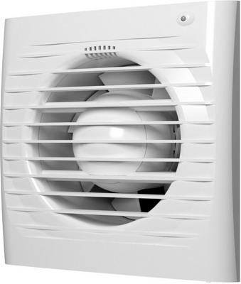 Вентилятор осевой вытяжной с обратным клапаном, датчиком влажности с таймером ERA, 4C HT