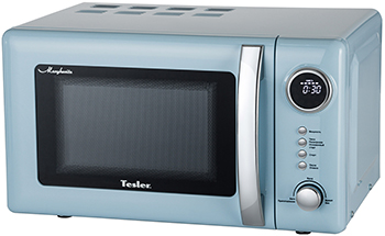 Микроволновая печь - СВЧ TESLER ME-2055 BLUE samsung me 83krw 3 свч печь