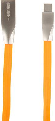 Кабель Red Line SMART HIGH SPEED USB-Type-C оранжевый кабель red line smart high speed usb type c белый