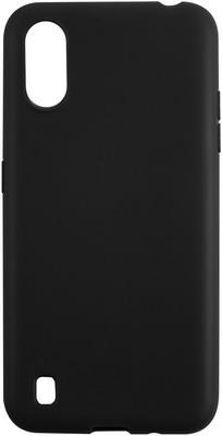 Чехол (клип-кейс) Red Line Ultimate для Samsung Galaxy A01 (SM-A015F) (черный) чехол red line для samsung galaxy a01 sm a015f book cover blue ут000019498