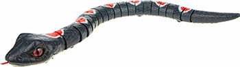 Робо-змея ZURU RoboAlive(Графит) 2 *1 5vAAА бат (в компл не входят) 40*13*10см