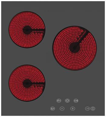 Встраиваемая электрическая варочная панель Simfer H 45 D 13 B 001 фото