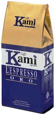 Кофе зерновой Kami Oro (1 kg) кофе в зернах kami lespresso oro 1 кг