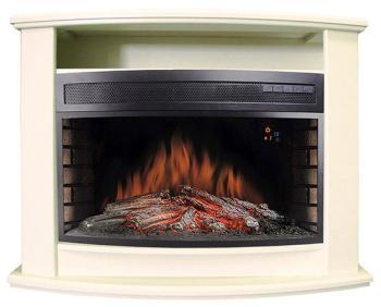 Каминокомплект Royal Flame Vegas с очагом Panoramic 33 W (фактурный белый) (64910116) royal flame realflame montana 33