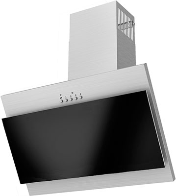 Вытяжка Exiteq EX-5026 черный/инокс