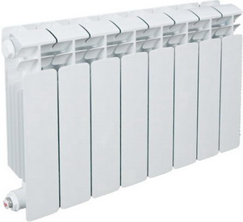 Водяной радиатор отопления RIFAR B 350 9 секц