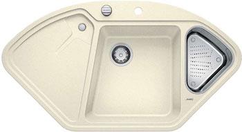 цена Кухонная мойка Blanco DELTA-F SILGRANIT жасмин с кл.-авт. InFino онлайн в 2017 году