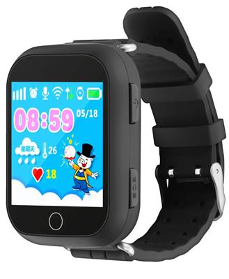 Детские часы-телефон Ginzzu 13419 503 black 1.54'' Touch nano-SIM
