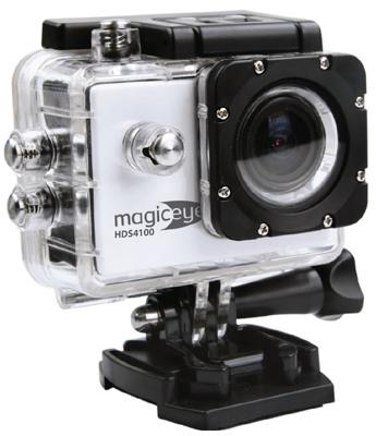 Экшн-камера Gmini MagicEye HDS 4100 серебристый цена и фото