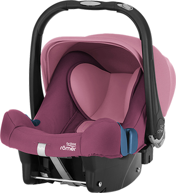 Автокресло Britax Roemer Baby-Safe Plus SHR II Wine Rose Trendline 2000027790 автокресло детское britax roemer first class plus black marble highline от 0 до 18 кг 2000022955 черный