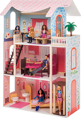 Кукольный домик Paremo Эмилия-Романья (с мебелью) PD 318-04 цена и фото