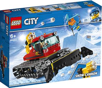 Конструктор Lego Снегоуборочная машина 60222 City Great Vehicles lego lego city great vehicles 60178 гоночный автомобиль