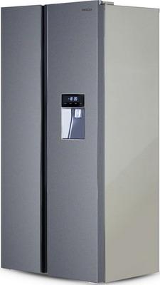 Холодильник Side by Side Ginzzu NFK-467 темно-серый