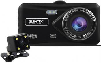 Автомобильный видеорегистратор SLIMTEC Dual X5 видеорегистратор зеркало slimtec dual m7