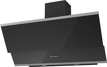 лучшая цена Вытяжка Krona Steel IRIDA 900 black push button