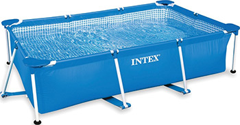 Бассейн Intex Rectangular Frame 260х160х65 2282л 28271 цена и фото