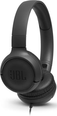 Наушники проводные JBL JBLT 500 BLK черный