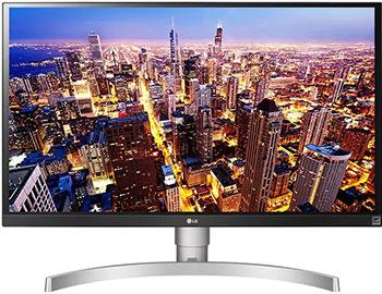 ЖК монитор LG 27 UK 650 белый цены