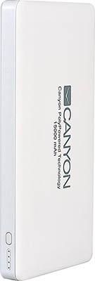 Аккумулятор портативный Canyon CNS-TPBP 15 W Белый