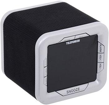 Радиочасы Telefunken TF-1505(черный с белым) все цены