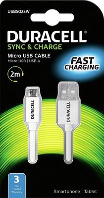 Кабель Duracell USB 5023 W-RU i6vsh2 w ru